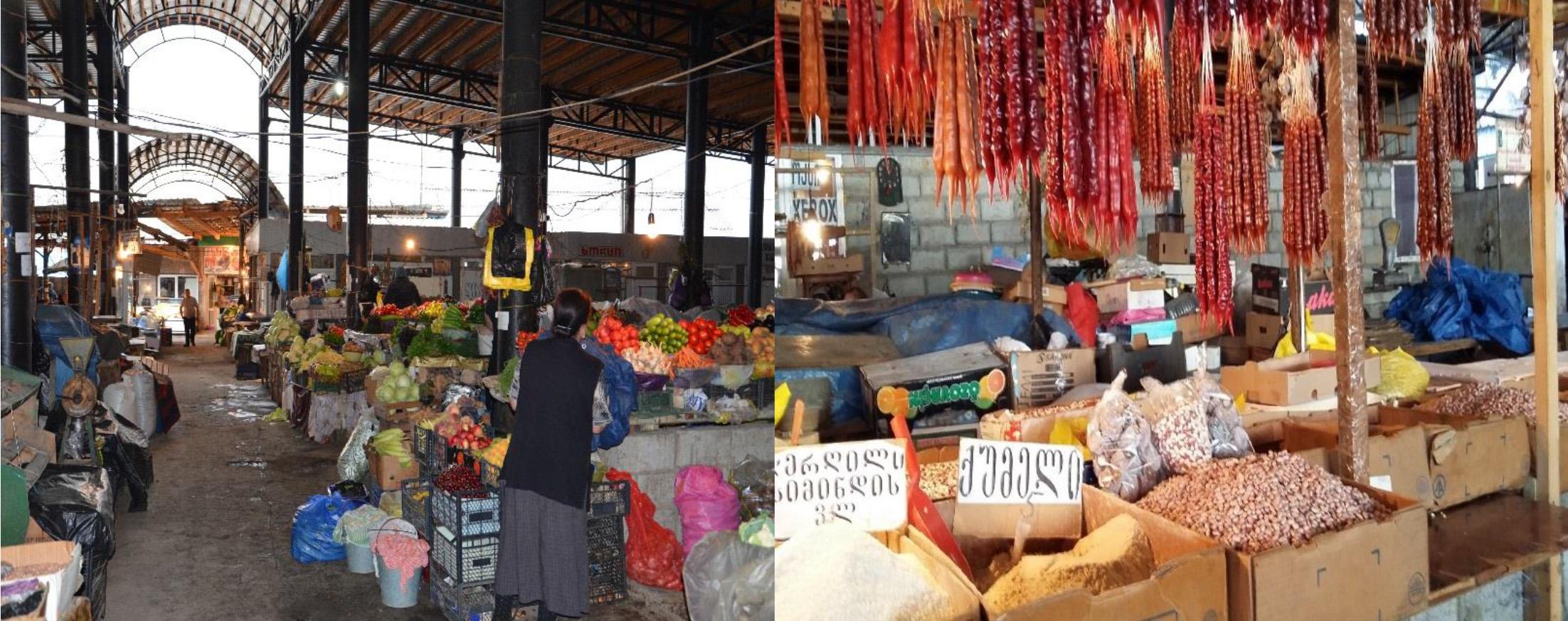 Bazar w Telavi