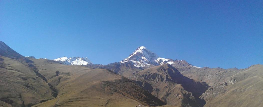 Majestatyczny Kazbek (5047 m n.p.m.)